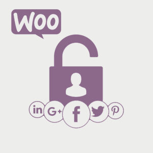 acceder con redes sociales a woocommerce