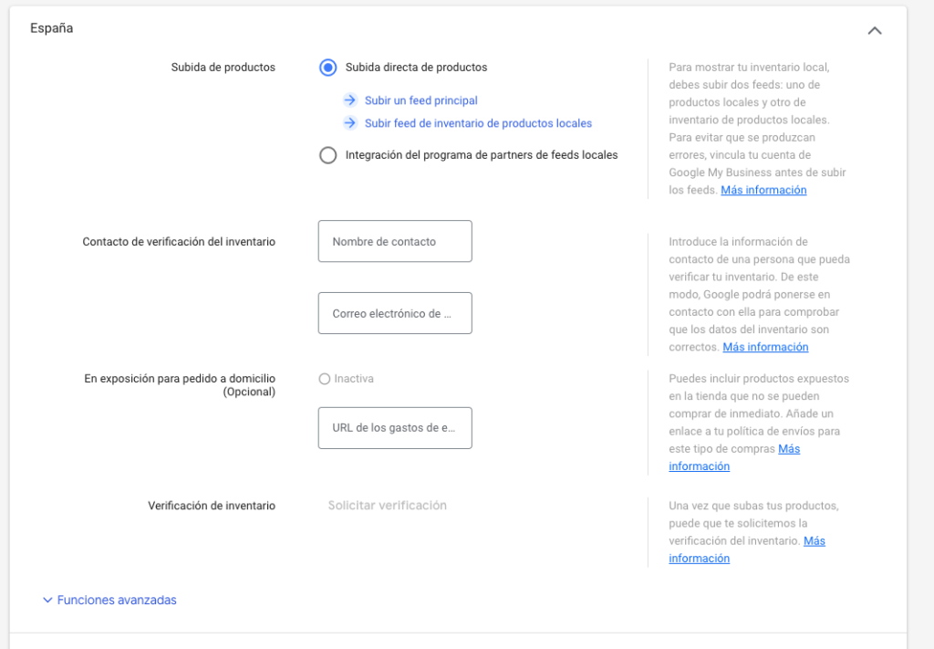 enlazar google my business con woocommerce